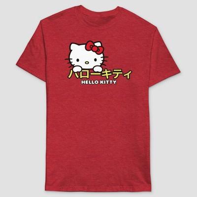 Men's Sanrio Short Sleeve Graphic T-Shirt - Red