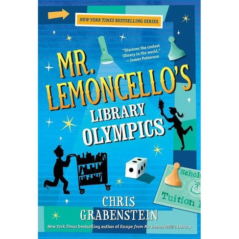 Mr. Lemoncello's Library Olympics - by  Chris Grabenstein (Paperback) - image 1 of 1