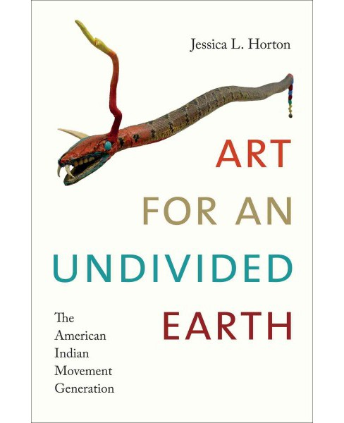 Art for an Undivided Earth : The American Indian Movement Generation (Hardcover) (Jessica L. Horton) - image 1 of 1