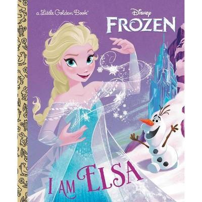 I Am Elsa (Disney Frozen) - (Little Golden Book) by  Christy Webster (Hardcover)