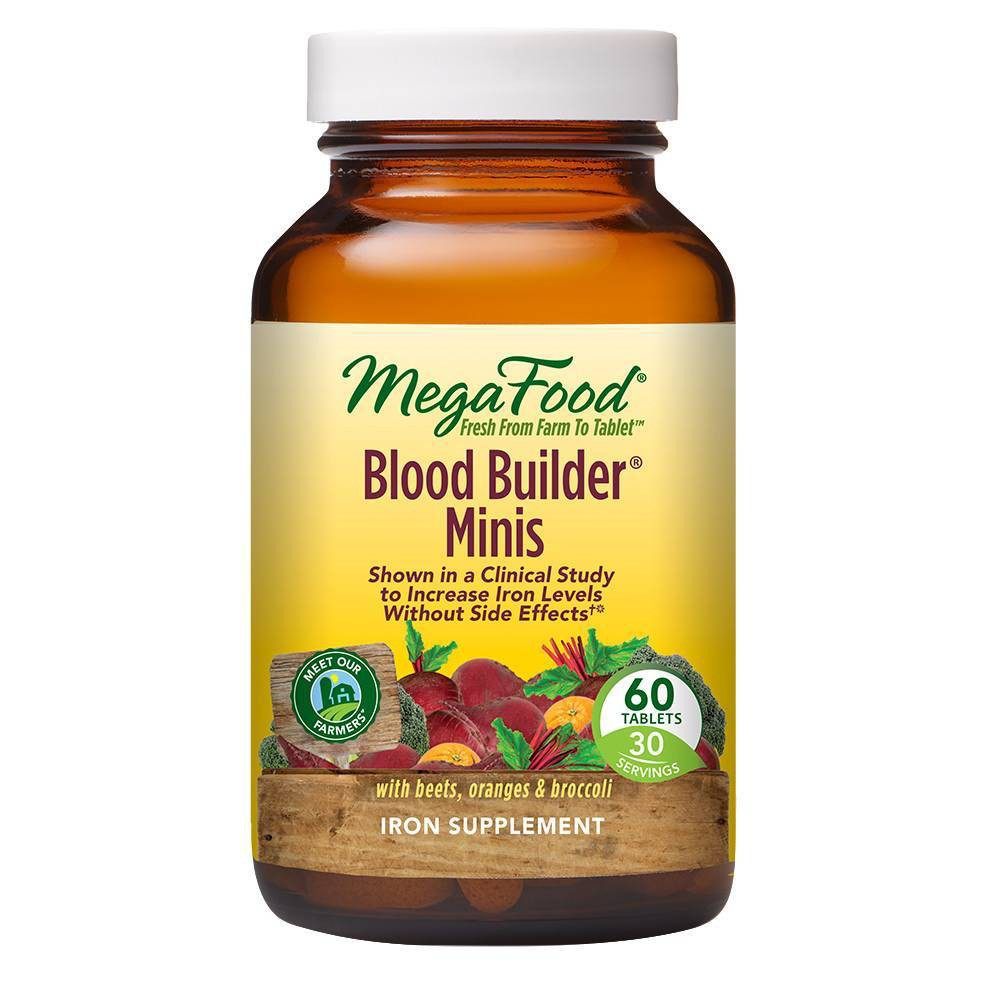 Megafood Blood Builder Mini Supplement 60ct
