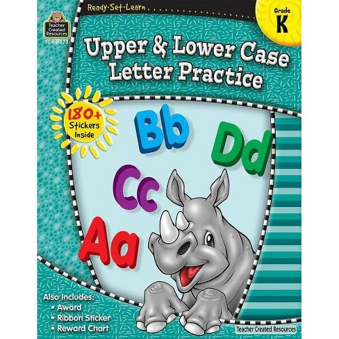 Ready-Set-Learn: Upper and Lower Case Grd K - (Ready, Set, Learn) (Paperback) - image 1 of 1