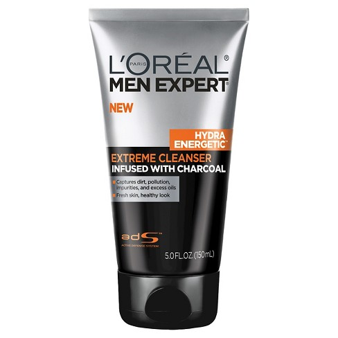 L'Oral Paris Men Expert Hydra Energetic Extreme Cleanser Infused with Charcoal - 5 fl oz - image 1 of 2