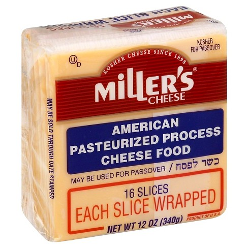 Miller's Yellow American Cheese Slices - 16ct/12oz - image 1 of 1