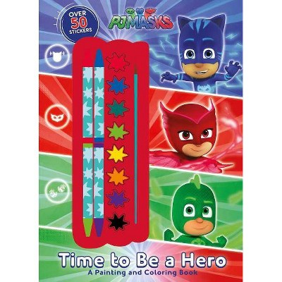 - Pj Masks: Time To Be A Hero - (Paperback) : Target