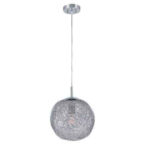 Lite Source Kolina Pendant Ceiling Light - Silver - image 1 of 1