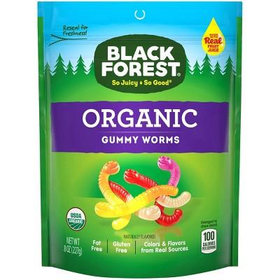 Black Forest Organic Gummy Worms - 8oz