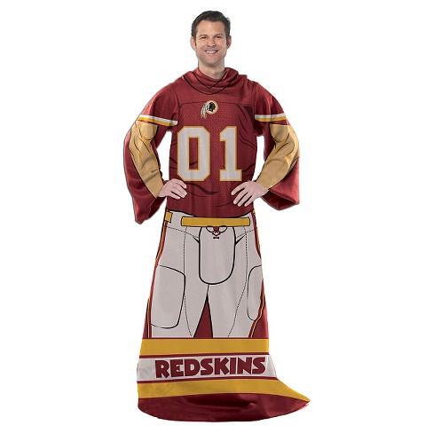 size 40 c5adf a38dc Northwest Washington Redskins Uniform Comfy Throw