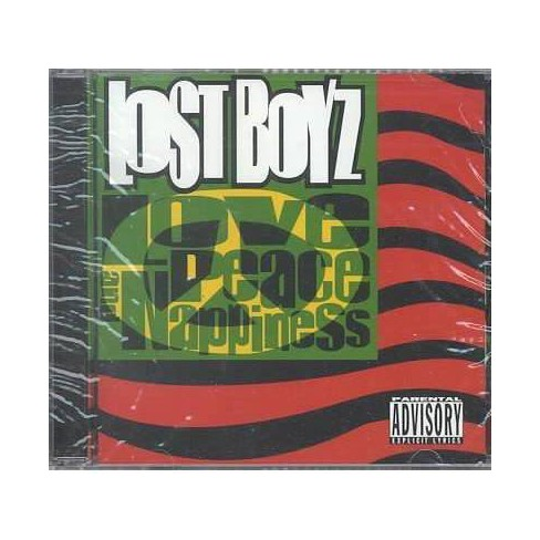 Lost Boyz; Redman (Gst); A+ (Gst); Canibus (Gst) - Love, Peace & Nappiness (PA) (CD) - image 1 of 1