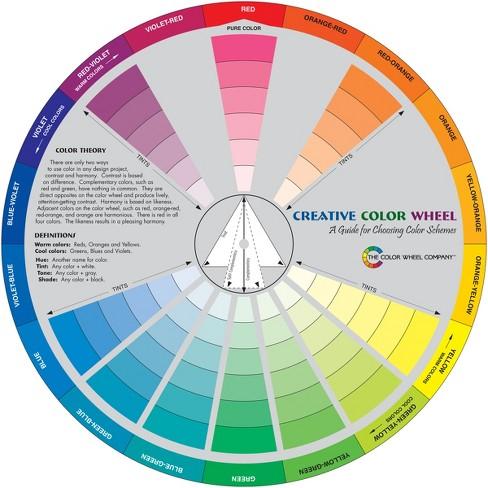 "Creative Color Wheel-9.25"" - image 1 of 1"