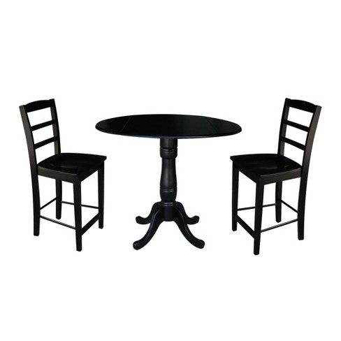 Round Pedestal Gathering Height Table