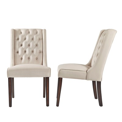 Ordinaire Old Town Velvet Wingback Button Tufted Hostess Chairs (Set Of 2)   Inspire  Q : Target