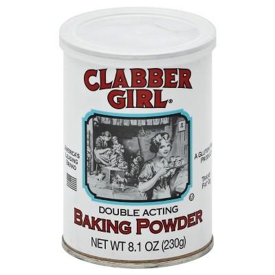 Clabber Girl Double Acting Baking Powder - 8.1oz