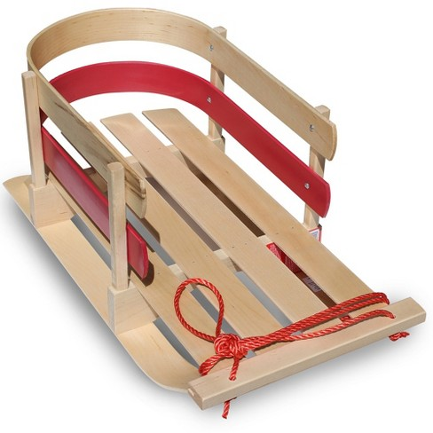 Flexible Flyer Wooden Baby Sleigh - image 1 of 4