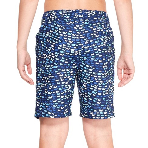 2e94d7ec06 Boys' School Of Whales Swim Trunks - Blue - Vineyard Vines® For Target :  Target