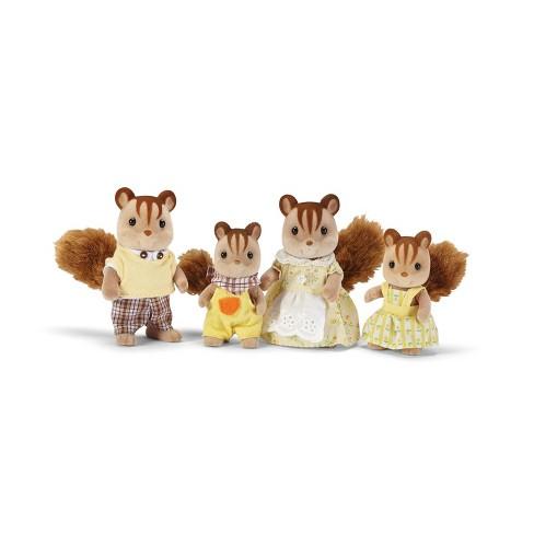 Calico Critters Hazelnut Chipmunk Family - image 1 of 3