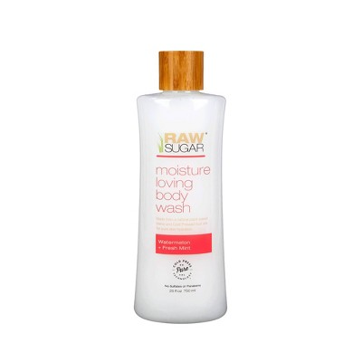 Raw Sugar Body Wash Watermelon + Mint - 25 fl oz