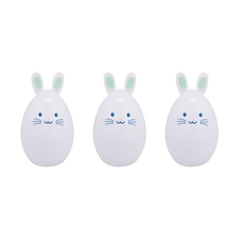 3ct Shaped Bunny Character  Easter Plastic Eggs - Spritz™ - image 1 of 1