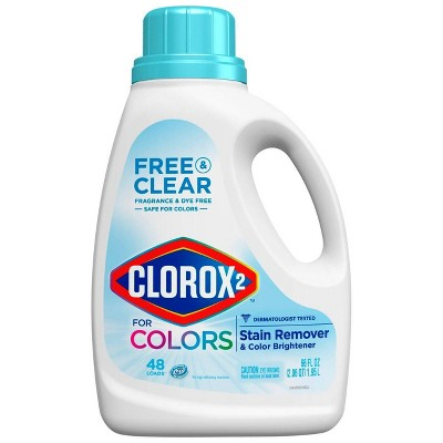 Clorox 2 Laundry Stain Remover and Color Booster - Free and Clear