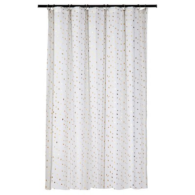 Diamond Shower Curtain - Gold - Room Essentials™