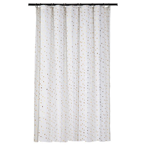 Diamond Shower Curtain - Gold - Room Essentials™ - image 1 of 1