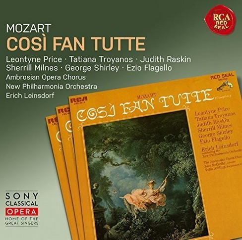 Leontyne price - Mozart:Cosi fan tutte (CD) - image 1 of 1
