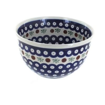 Blue Rose Polish Pottery Nature Small Mixing Bowl