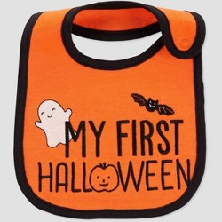 Baby 'My First Halloween' Bib - Just One You® made by carter's Orange