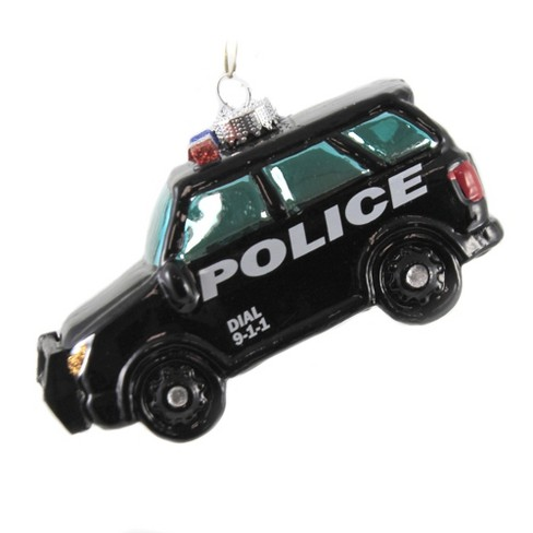 """Holiday Ornament 2.5"""" Police Suv Law Enforcement  -  Tree Ornaments - image 1 of 3"""