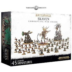 Games Workshop Warhammer 40,000 Skaven Corrupting War-Swarm