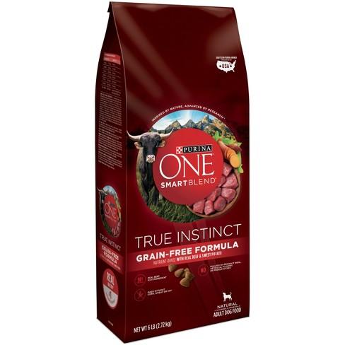 Purina One Smartblend True Instinct Real Beef Target