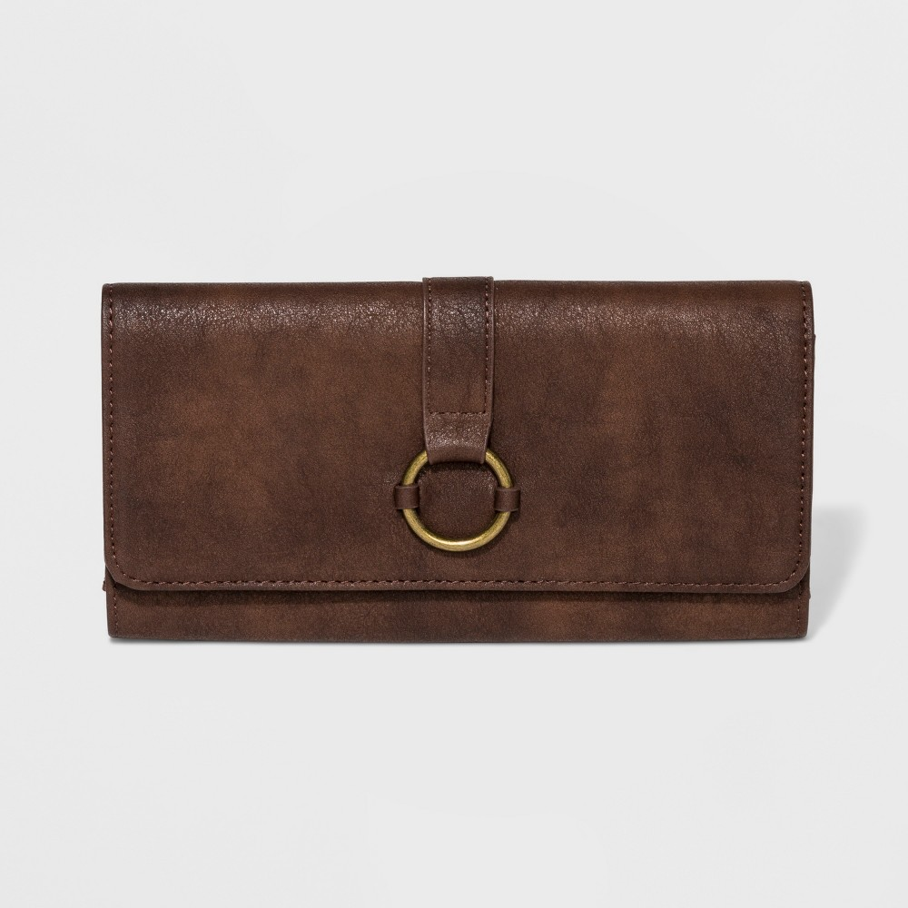 Women's Harper Tri - Fold Wallet - Universal Thread Brown