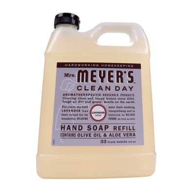 Mrs. Meyer's Lavender Liquid Hand Soap Refill - 33 fl oz
