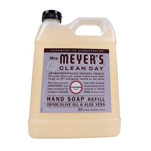 Mrs. Meyer's Lavender Liquid Hand Soap Refill - 33 fl oz - image 1 of 3