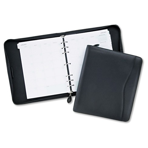 Day-Timer® Verona Leather Starter Set, 8 1/2 x 11, Black Cover - image 1 of 1