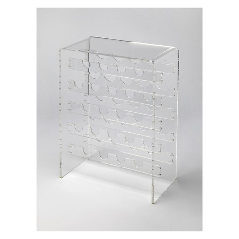 Butler Specialty Crystal Wine Rack Clear Acrylic - image 1 of 3