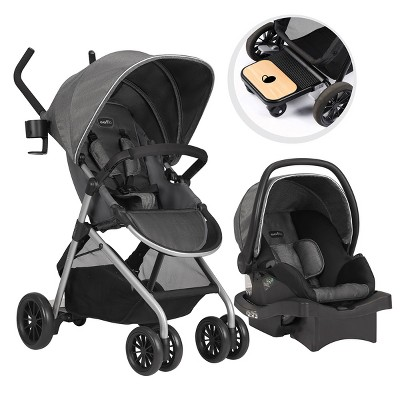 Evenflo Sibby Travel System - Light Gray