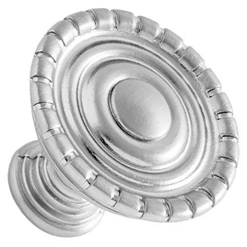 Sumner Street Home Hardware - 1.25 - 4-Piece - Knob - Satin Nickel Laurel