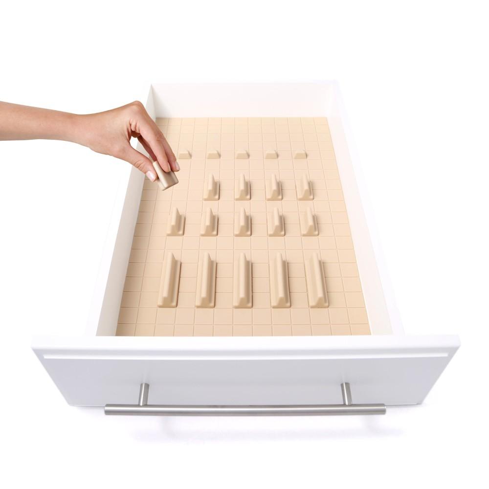 Image of Drawer Decor 21pc Customizable Drawer Organizer Natural