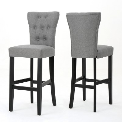 Set of 2 Pia Barstools Gray - Christopher Knight Home