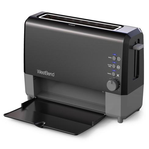 West Bend 2 Slice QuickServe Toaster - Black - image 1 of 4