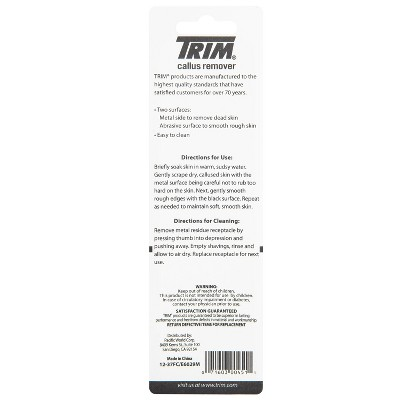 Trim Neat Feet Coarse & Smooth Surface Callus Remover