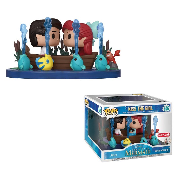 Funko POP! Movie Moments: The Little Mermaid - Kiss The Girl (SDCC Debut) - image 1 of 3