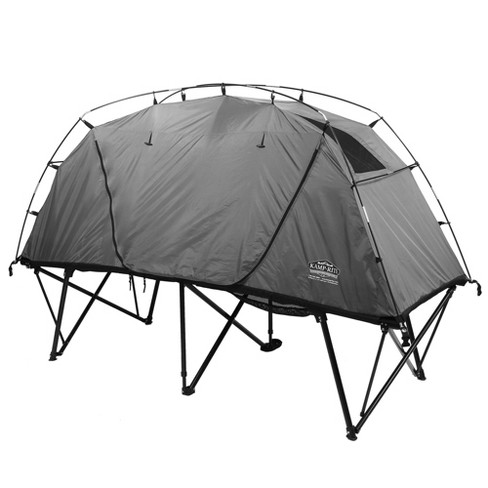 Kamp Rite Ctc Xl Compact Light Collapsible Backpacking Camping Tent Cot, Gray - image 1 of 6