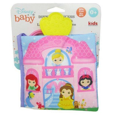 Disney Baby Princess Soft Book Pink
