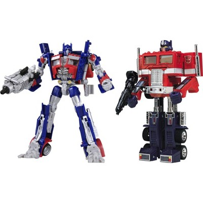 Deluxe Class G1 Reissues CH-01 G1 Optimus Prime and DOTM Optimus Set | Transformers 3 Dark of the Moon DOTM Action figures