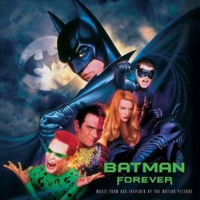 Batman Forever Soundtrack - Batman Forever: Music From The Motion Picture (OST) (EXPLICIT LYRICS) (Vinyl)