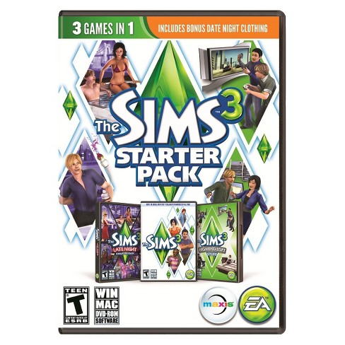 PC Game The Sims 3 Starter Pack - image 1 of 1
