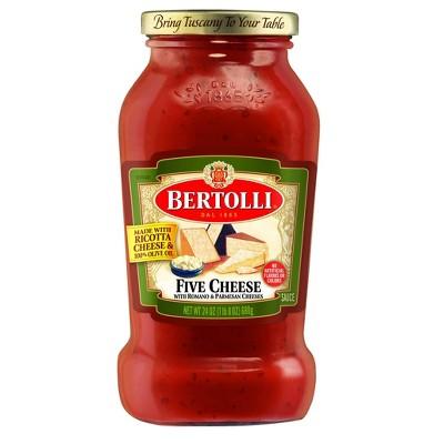 Bertolli Five Cheese Pasta Sauce - 24oz