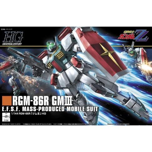 Bandai Spirits Zeta Gundam HGUC #126 GM III 3 HG 1/144 Model Kit - image 1 of 3